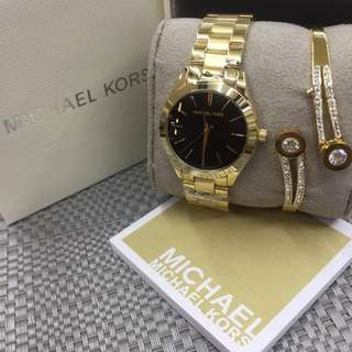 MK WATCH SET W/ BOX
