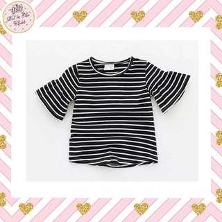 < Special Price > Black Stripes Tee