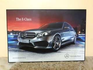 Mercedez Benz E-Class Poster Frame limited editon