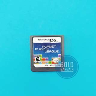 Authentic Nintendo game cartridge Planet Puzzle League for DS 3DS DSi Game Console