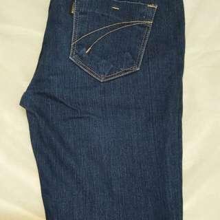 Jeans slim size 27 kondisi seperi baru