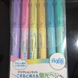 Pilot frixion highlighters
