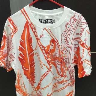 Tshirt volcom orange