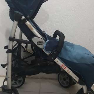 Preloved Heavy duty Multiway Chicco Stroller