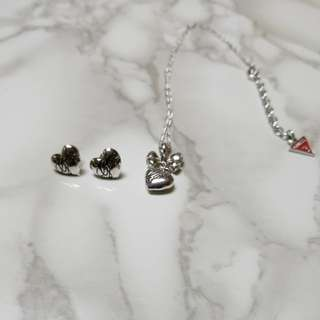 Guess jewellery one set