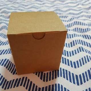 Kraft Lid Square Box