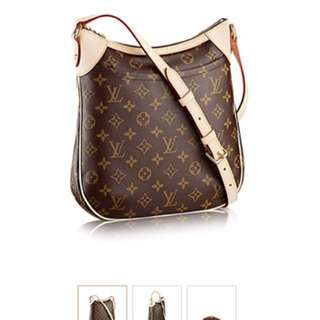 Auth Louis Vuitton Shoulder Sling Bag Crossbody