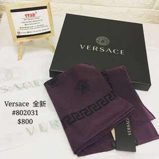 Versace  scarf 全新