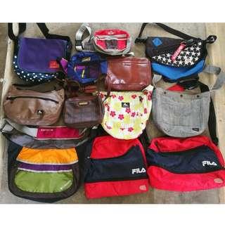 Polo ralph lauren,porter,fila,colombia,gregory,dickies,timberline,coleman,hiroko hoshino,manhattan portage sling,clutch,messenger,pouch bag