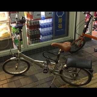 可摺式單車