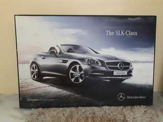 Mercedez Benz SLK poster frame limited edition