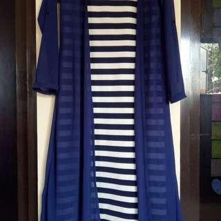 Dress stripe straight