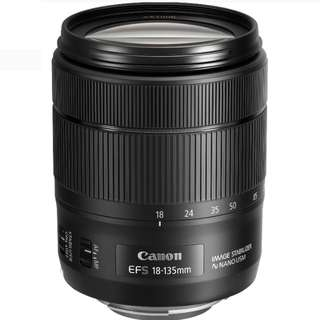 Canon EF-S 18-135mm IS USM Lens