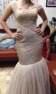 Mermaid long gown