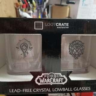 World of Warcraft Lowball Glasses