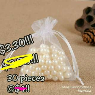 Clearance sale @$3.30 mailed!  Small mesh drawstring!!