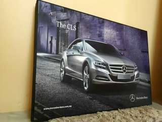 Mercedez Benz CLS Poster Frame limited edition