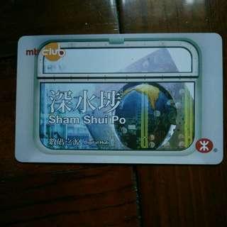 港鐵 MTR club 紀念車票,不能用