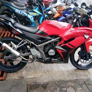 Kawasaki Ninja rr 150 tahun 2013