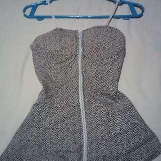 Zip up blouse