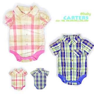 Carters Polo Romper