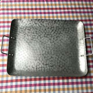 West Elm Silver Plated Tray