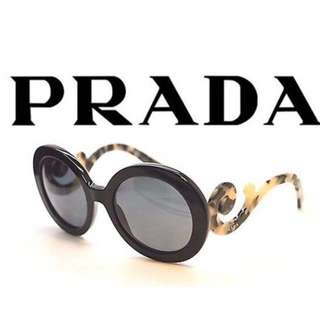 NEW Prada Baroque Sunglasses With Tortoise-print Temples