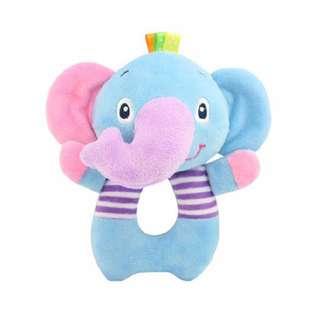 🦁Instock - elephant rattle toy, unisex baby infant toddler girl boy children sweet kid happy abcdefg