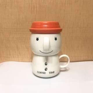 滴漏咖啡陶瓷杯套裝