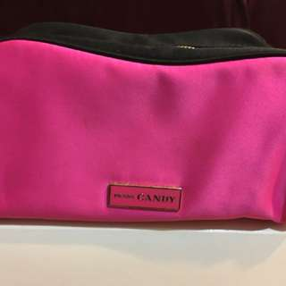 Prada Cabsa cosmetic bag