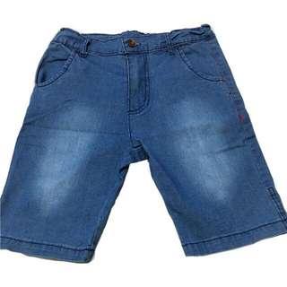 🍬 Branded Soft Denim Walking Short For Boys