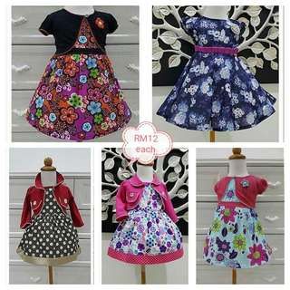 Cute and beautiful dress for baby girl