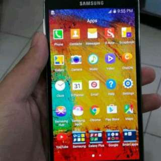 For sale samsung note 3 32gb
