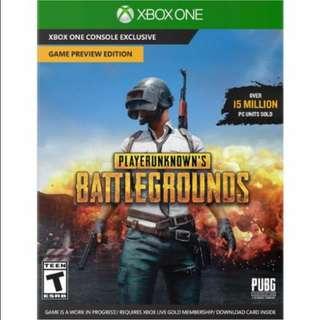 Player Unknown PlayerUnknown's Battlegrounds Battle Ground PUBG for Xbox One Digital Download Code