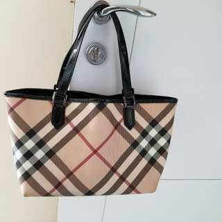 100% real Burberry handbag