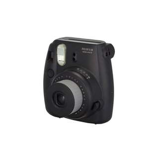FUJIFILM instax camera - black WITH CASE