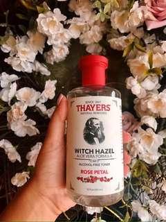 Thayers Witch Hazel Rose Petal Toner