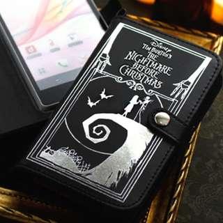 迪士尼 怪誕城之夜 [ SMARTPHONE 手帳型 電話套 手機殼 ] iPhone xperia samsung