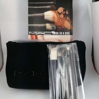 MAC Advanced Brush Kit 化妝掃連包 (6款掃)