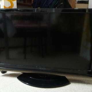 Sharp lc-40g 100h ,40吋 全高清電視,唔知壞什麼,開唔到機,沒有搖控