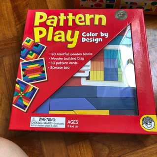 Pattern Play  okie by design recommended by Shichida Method  in very good condition