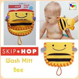 SkipHOP Wash Mitt Bee