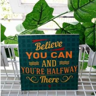 Hiasan Dinding Quotes Motivational Home Decoraiton 1