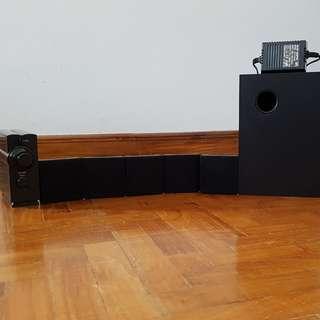 Mini 5.1 PC Surround Sound System