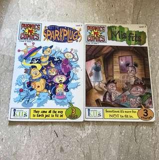 Phonics comics