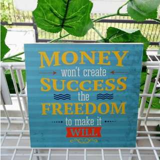 Hiasan Dinding Quotes Motivational Home Decoration 3