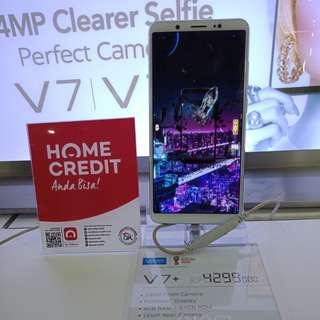 Dijual Vivo V7+ Promo Bunga 0,99% Pakai Home Credit