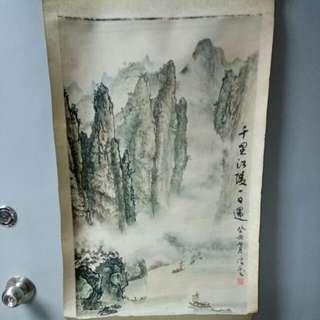"""信藝 - """"千里江陵一日還"""" 圖"""