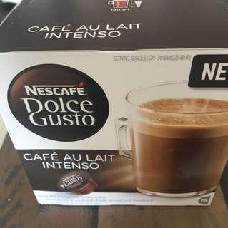 Nescafe Dolce Gusto Capsules Cafe Au Lait