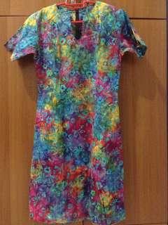 Dress batik bali